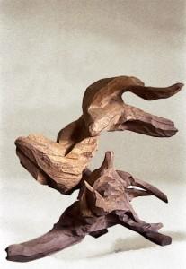 sculptre bois alizier