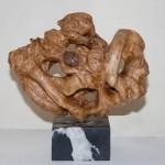 sculpture bois prunier