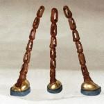 sculpture bois poirier+dorure