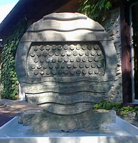 sculpture fontaine marbre