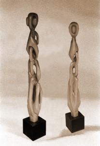 sculpture bois noyer