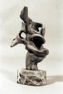 sculpture bois cep de vigne
