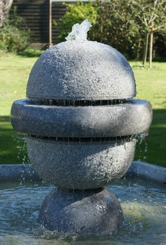 sculpture marbre fontaine