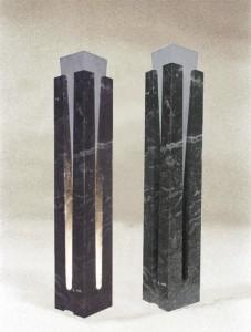 lumière sculpture marbre