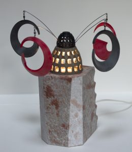 Sculpture lumineuse impression 3D