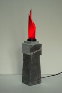 sculpture lumineuse impression D